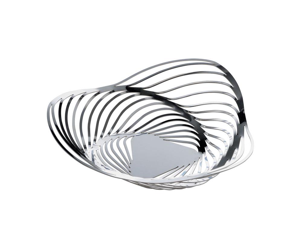 Koszyk na pieczywo lub owoce Alessi Trinity Silver