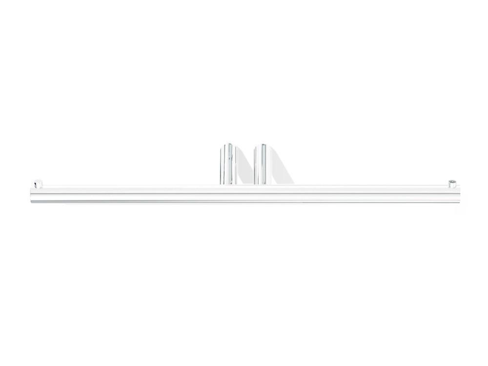 Uchwyt ścienny na papier podwójny Mikado Decor Walther MK TPH2 White Matt