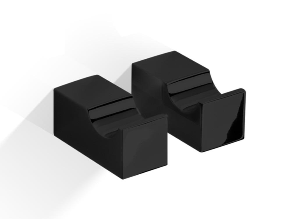 Zestaw wieszaczków ściennych x2 Decor Walther CO HAK1 Black Matt