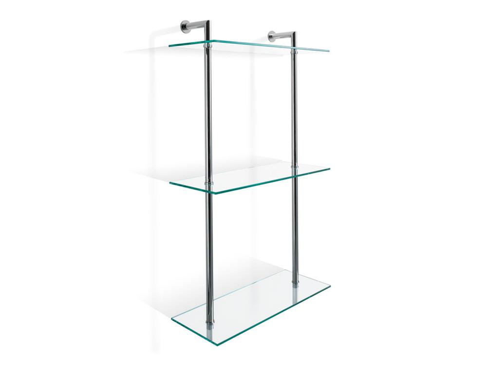 Regał/ szafka łazienkowa ścienna Decor Walther DW 016 Glass Clear