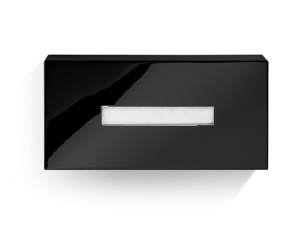 Pudełko na chusteczki nablatowe/ścienne Decor Walther KB 82 Black Matt