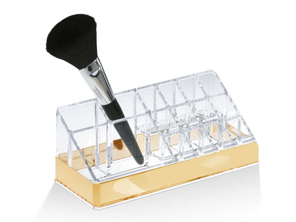 Organizer na kosmetyki i przybory Decor Walther DW 409 Acryllic Gold