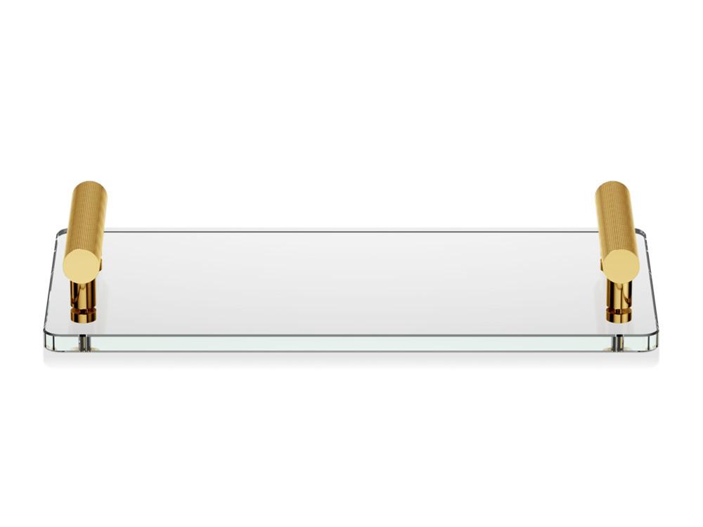 Tacka łazienkowa Decor Walther Club TAB Glass Gold