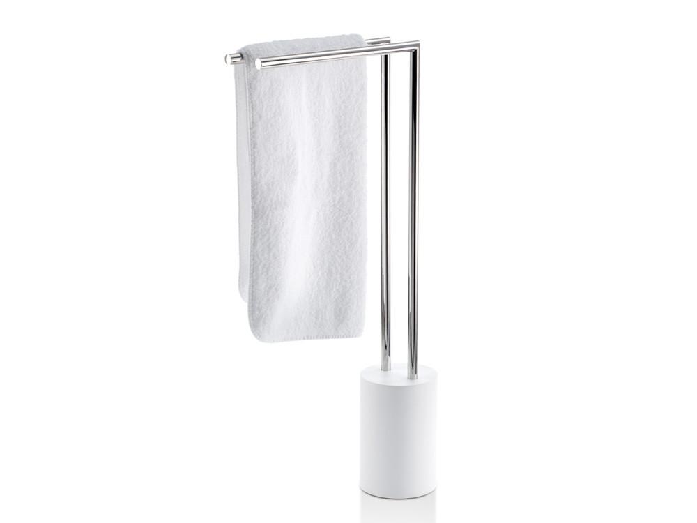 Stojak na ręczniki Decor Walther Stone HT 2 White Silver Matt