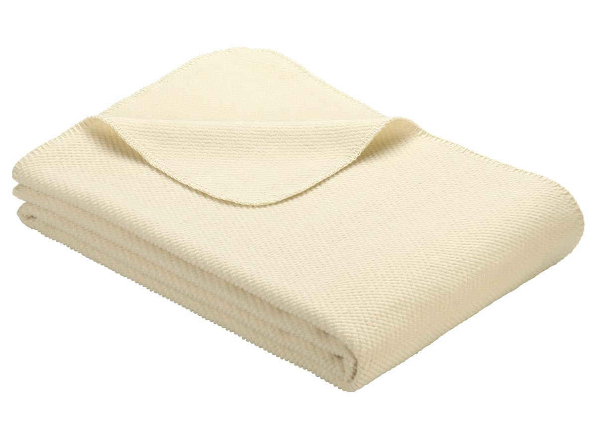 Koc Ibena Organic Wool Auckland Cream 140x200