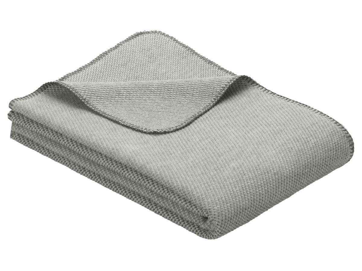Koc Ibena Organic Wool Auckland Grey 140x200