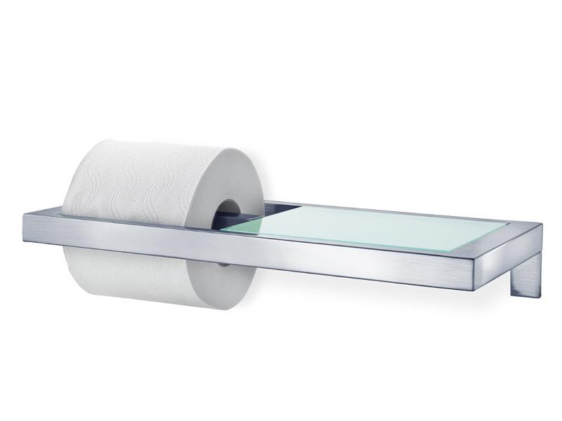 Uchwyt/Wieszak ścienny na papier Blomus Menoto Matt z półką
