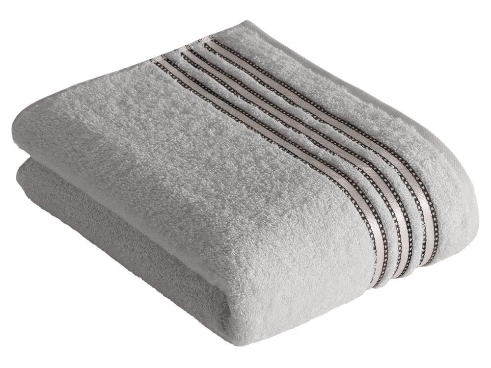Ręcznik Vossen Cult de Luxe Light Grey 100x150