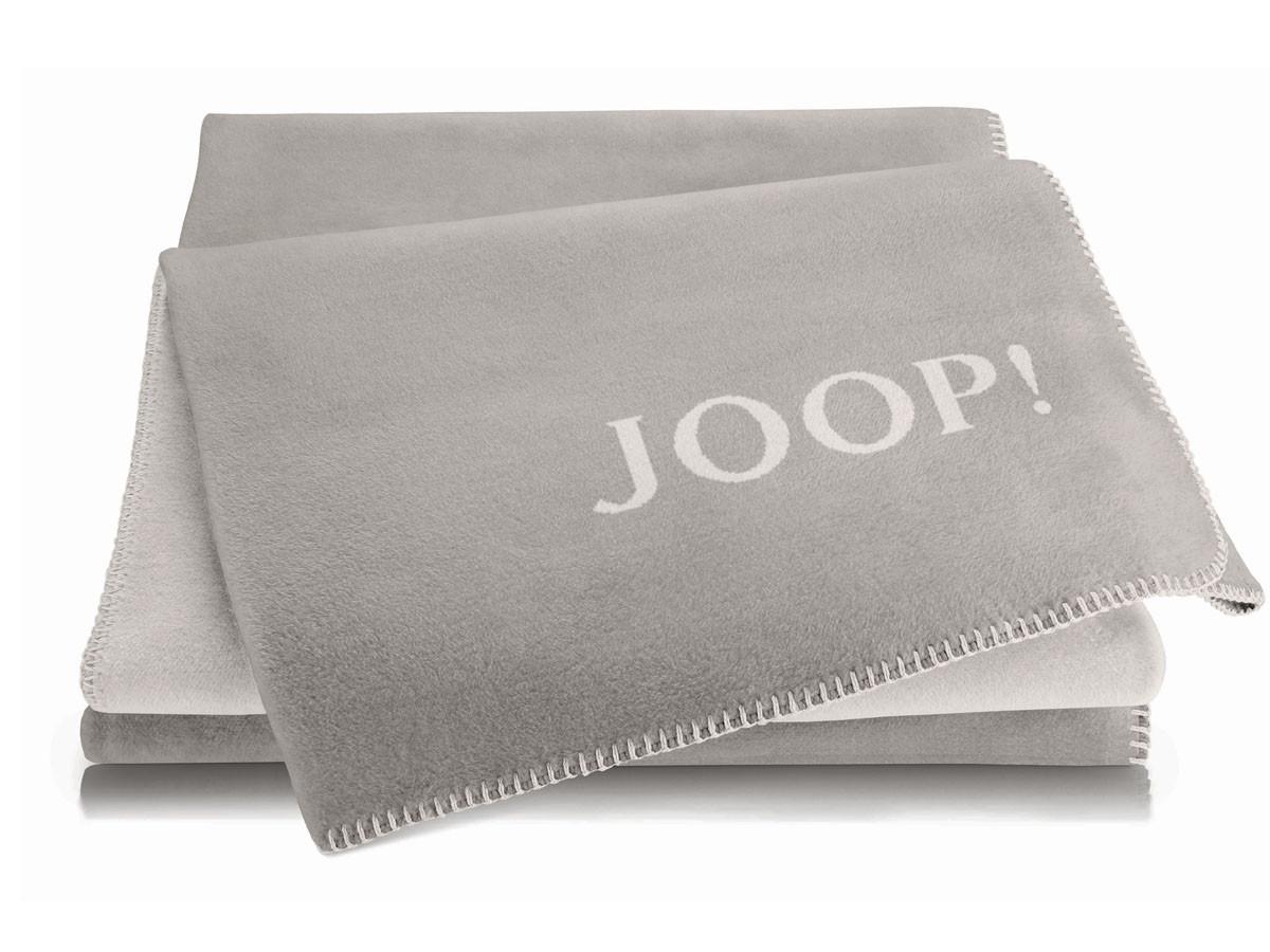 Koc Joop Doubleface Uni Smoke-Ecru 150x200