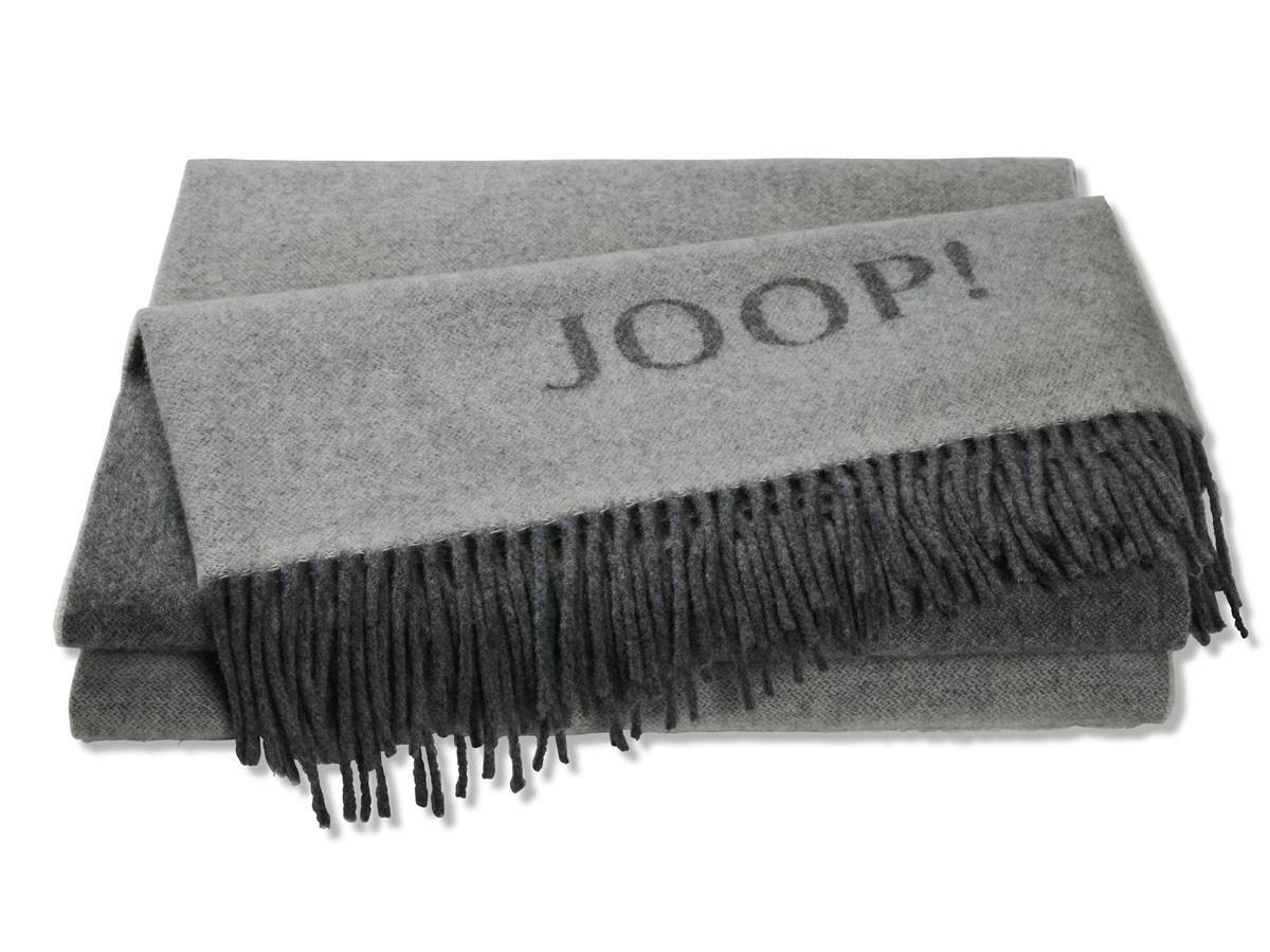 Pled Joop Wool Fine Grey 130x180