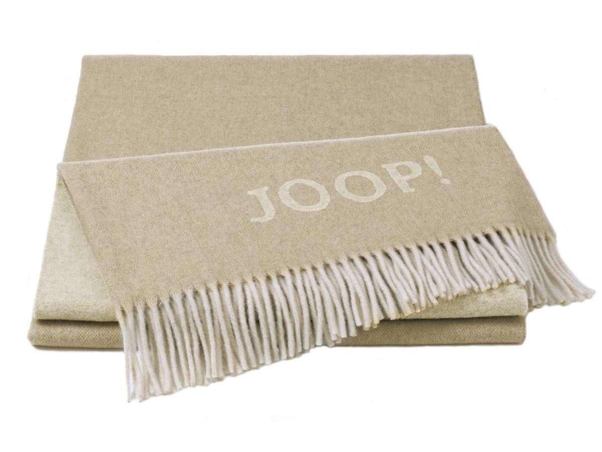Pled Joop Wool Fine Natur Creme 130x180