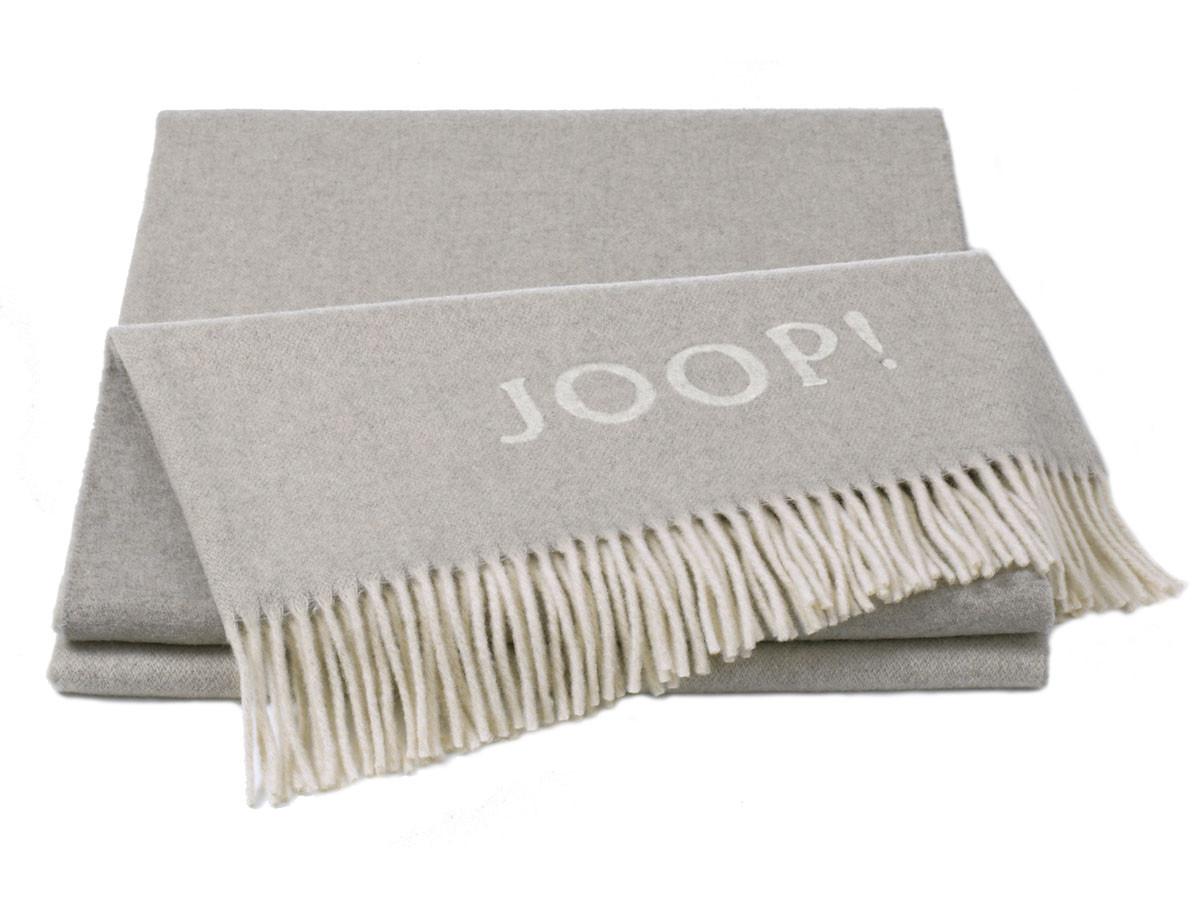 Pled Joop Wool Fine Natur Silver 130x180