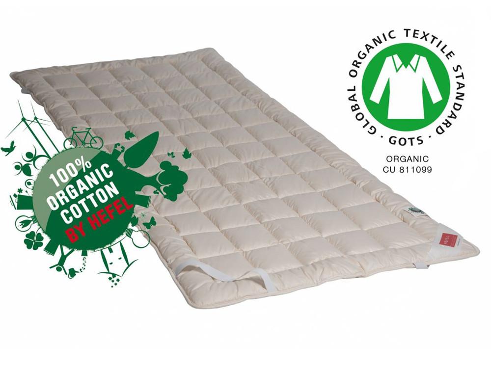Podkład na materac / Ochraniacz Hefel Bio Wool GOTS