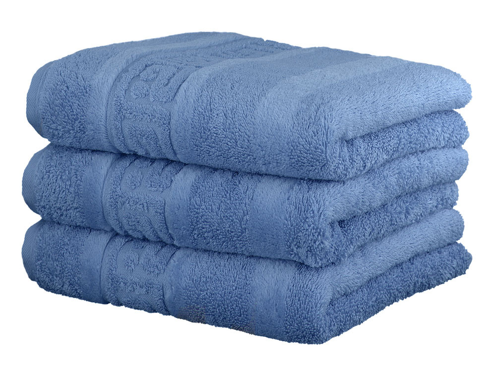 Ręcznik Cawo Noblesse Greek Uni Blue