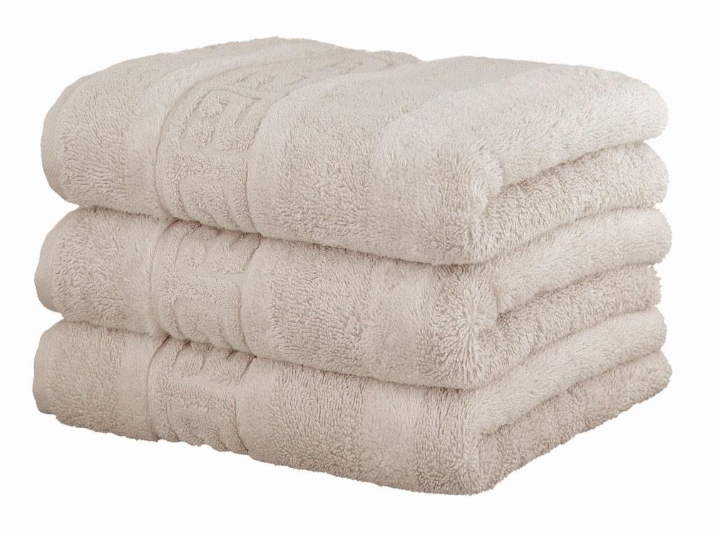 Ręcznik Cawo Noblesse Greek Uni Travertin 30x50