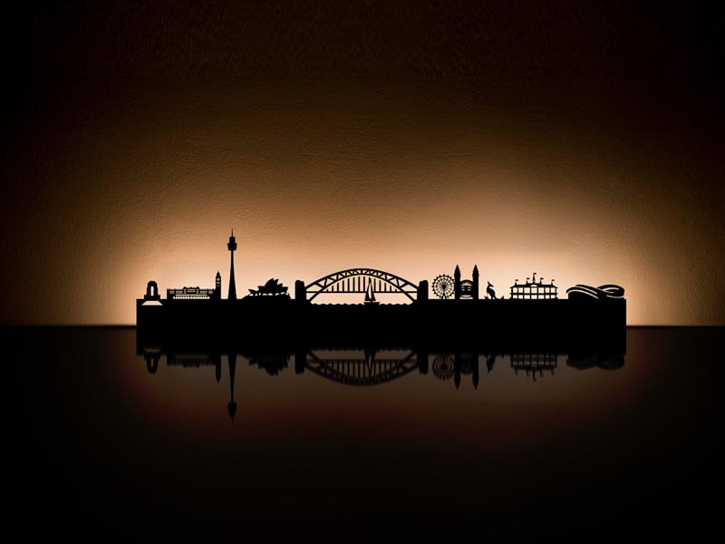 Dekoracja Radius Light City Sydney