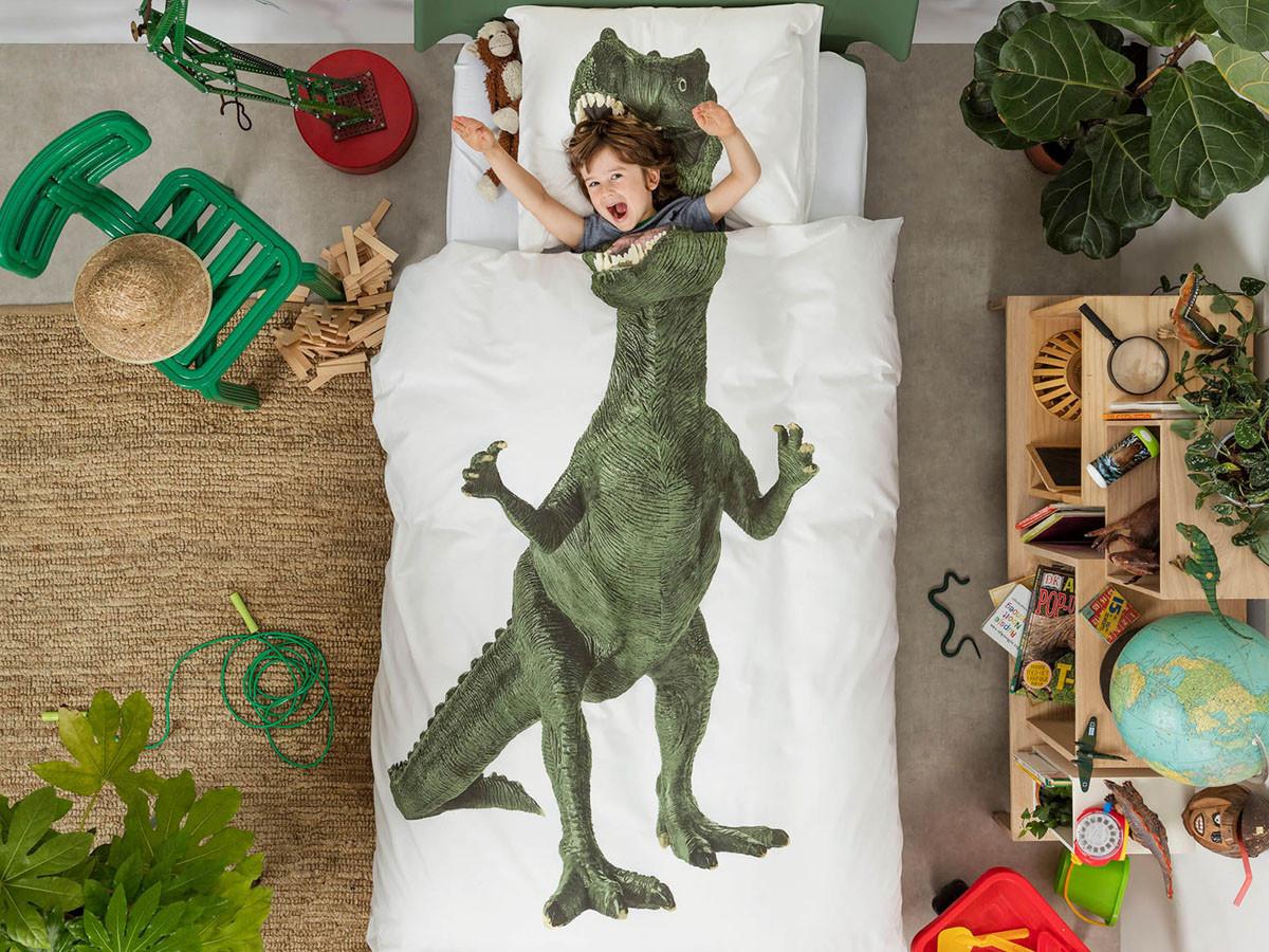 Pościel Snurk Dinosaurus Rex 140x200