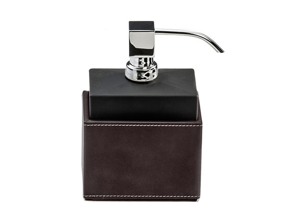 Dozownik do mydła Decor Walther Brownie SSP Dark Brown Chrome GBM