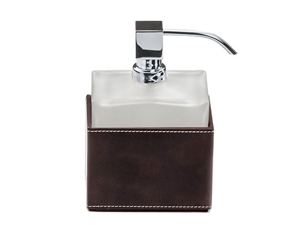 Dozownik do mydła Decor Walther Brownie SSP Dark Brown Chrome GS
