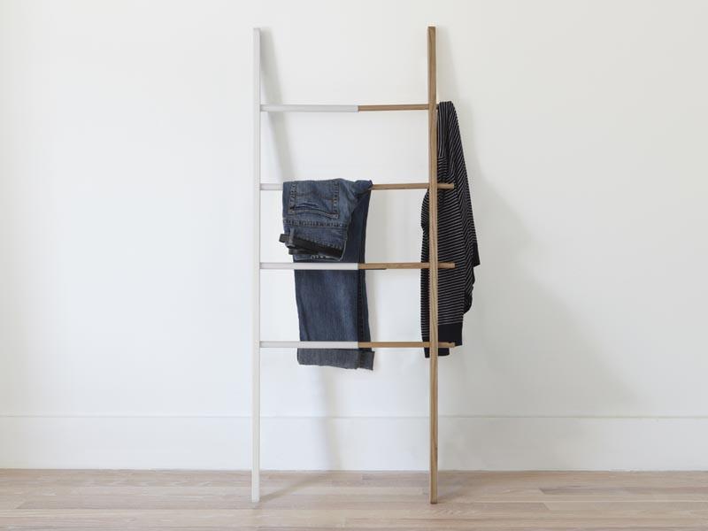 Stojak na ręczniki/ drabinka Umbra Hub Natural White