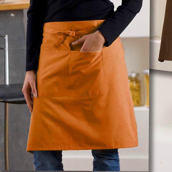 Fartuszek Chef Uni Orange