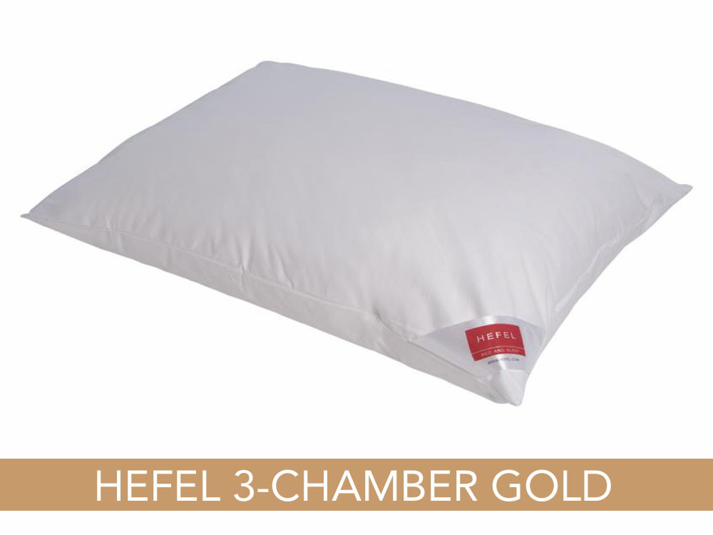 Poduszka puchowa Hefel Gold Down 3-Chamber 70x80