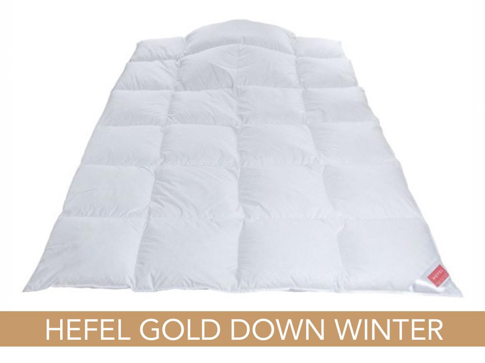 Kołdra puchowa Hefel Gold Down Winter