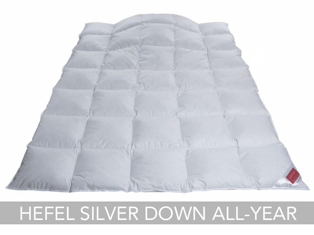 Kołdra puchowa Hefel Silver Down All-Year Light