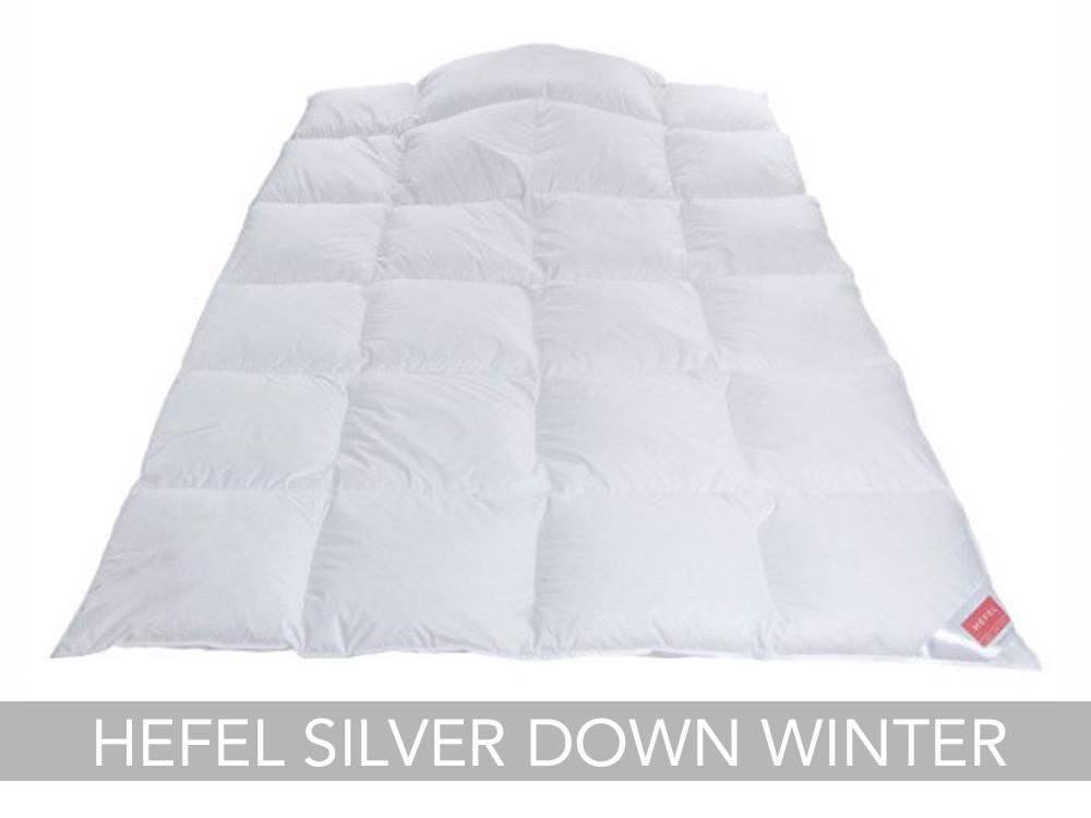 Kołdra puchowa Hefel Silver Down Winter 155x200