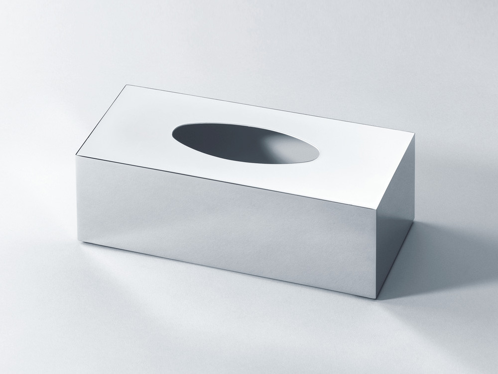 Pudełko na chusteczki nablatowe/ścienne Decor Walther KB 81 Chrome