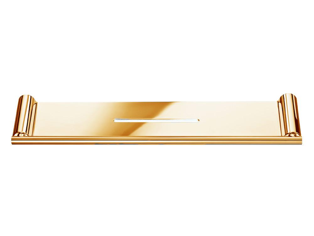 Półka łazienkowa ścienna Decor Walther Mikado MK ABL40 Gold
