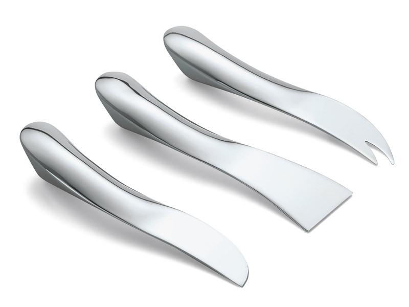 Noże do sera x3 Philippi Wave