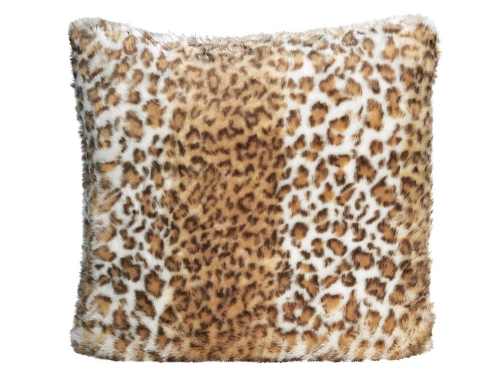Poduszka futrzana Winter Home Snow Leopard 45x45