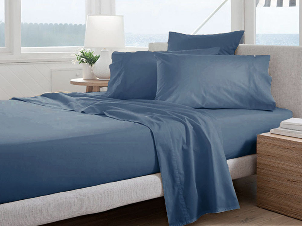 Pościel Curt Bauer Uni Comfort Denim 155x200
