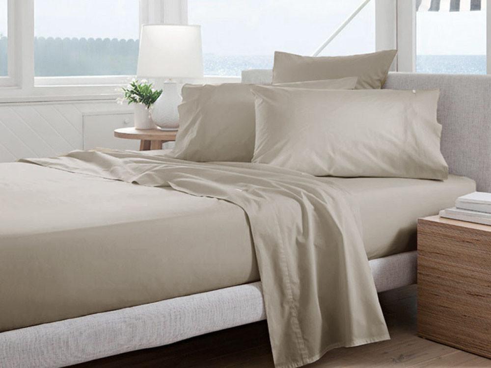 Pościel Curt Bauer Uni Comfort Linen 200x220