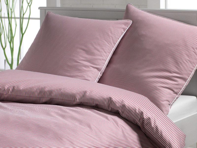 Pościel Elegante Mild Stripes Pink 155x200