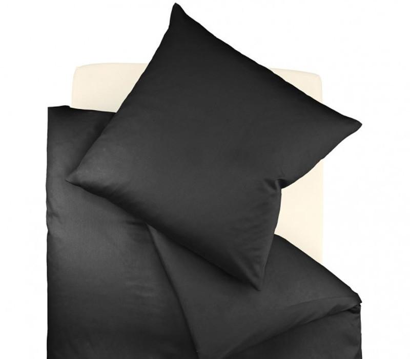 Pościel Fleuresse Colours Uni Black 155x200
