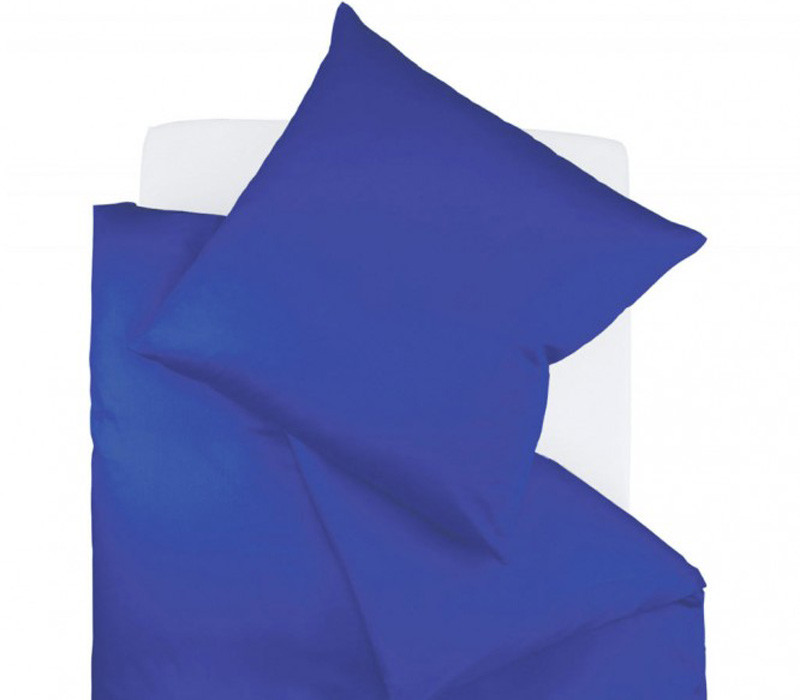 Pościel Fleuresse Colours Uni Navy Blue 155x220