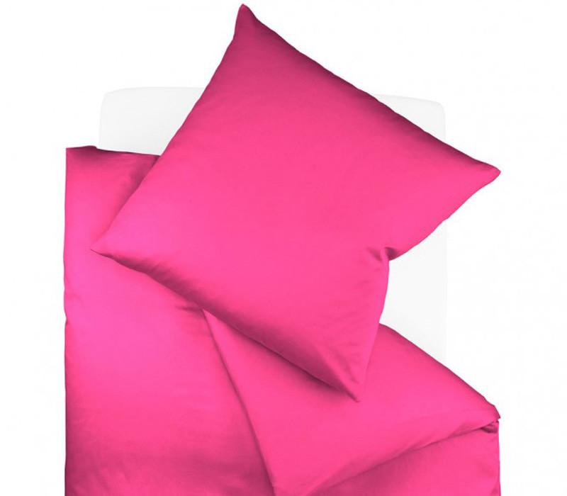 Pościel Fleuresse Colours Uni Raspberry 155x200