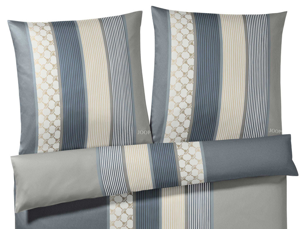Pościel Joop Cornflower Stripes Grey 200x200