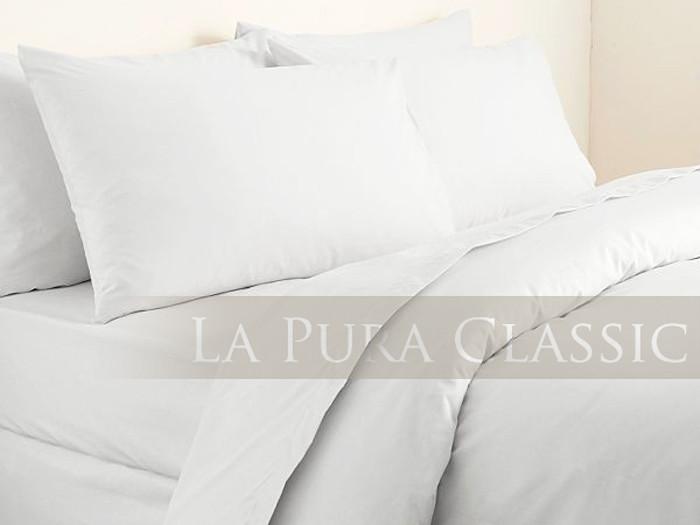 Pościel La Pura Uni White 160x200