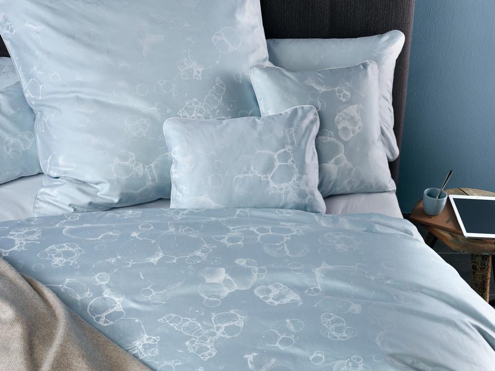 Pościel Curt Bauer CB 1882 Bubble Blue - poszewka na poduszkę