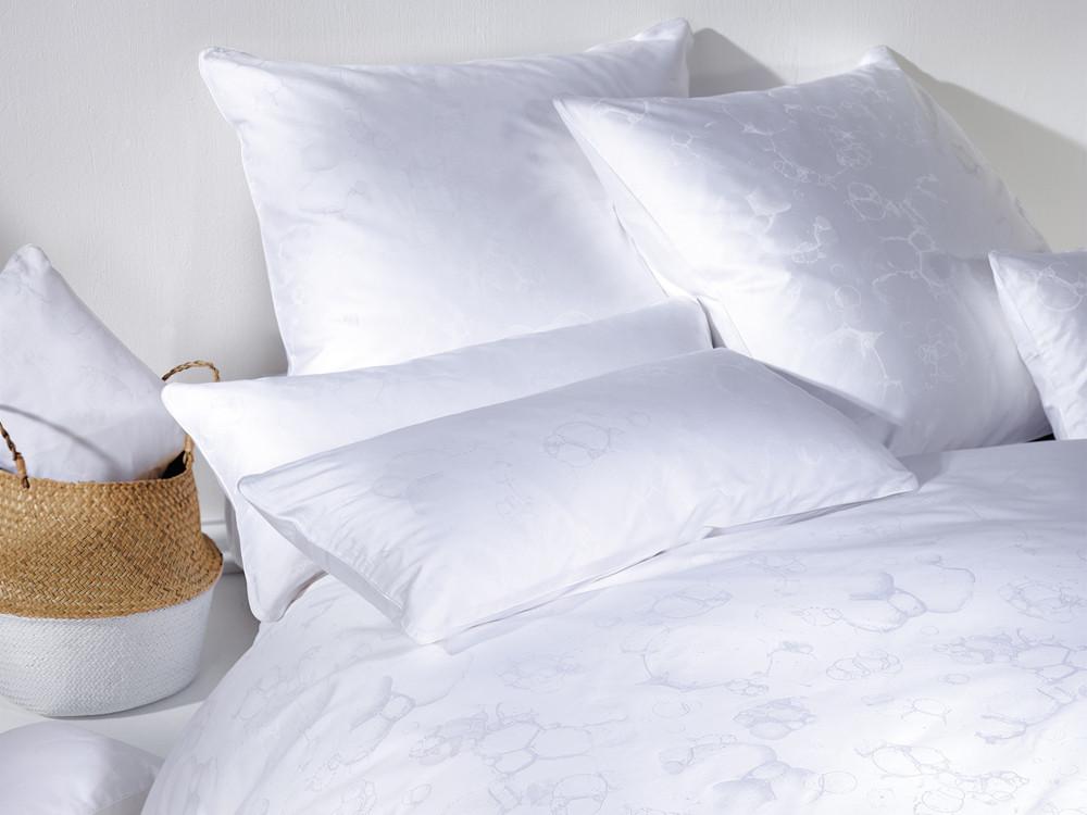 Pościel Curt Bauer CB 1882 Bubble White - poszewka na poduszkę