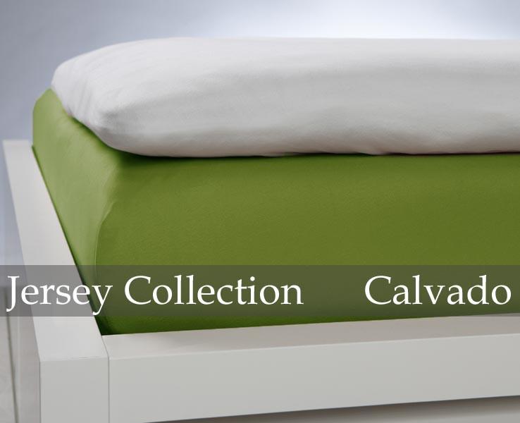 Prześcieradło Jersey Olive
