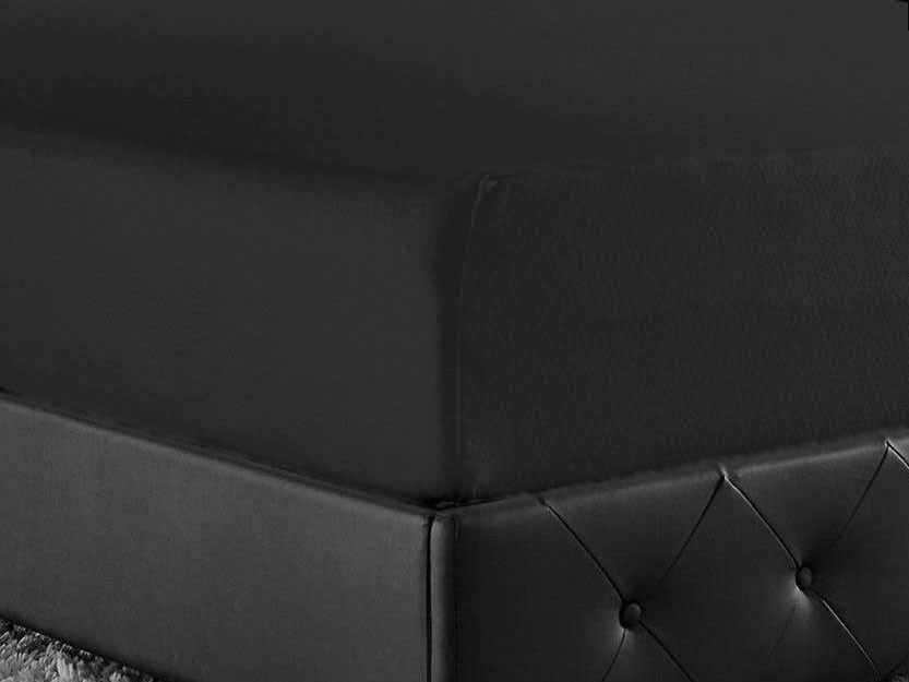 Prześcieradlo Joop Jersey Black 200x200