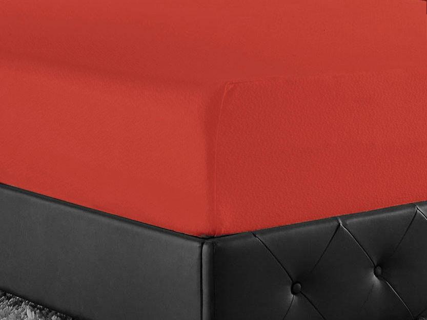 Prześcieradlo Joop Jersey Red 200x200