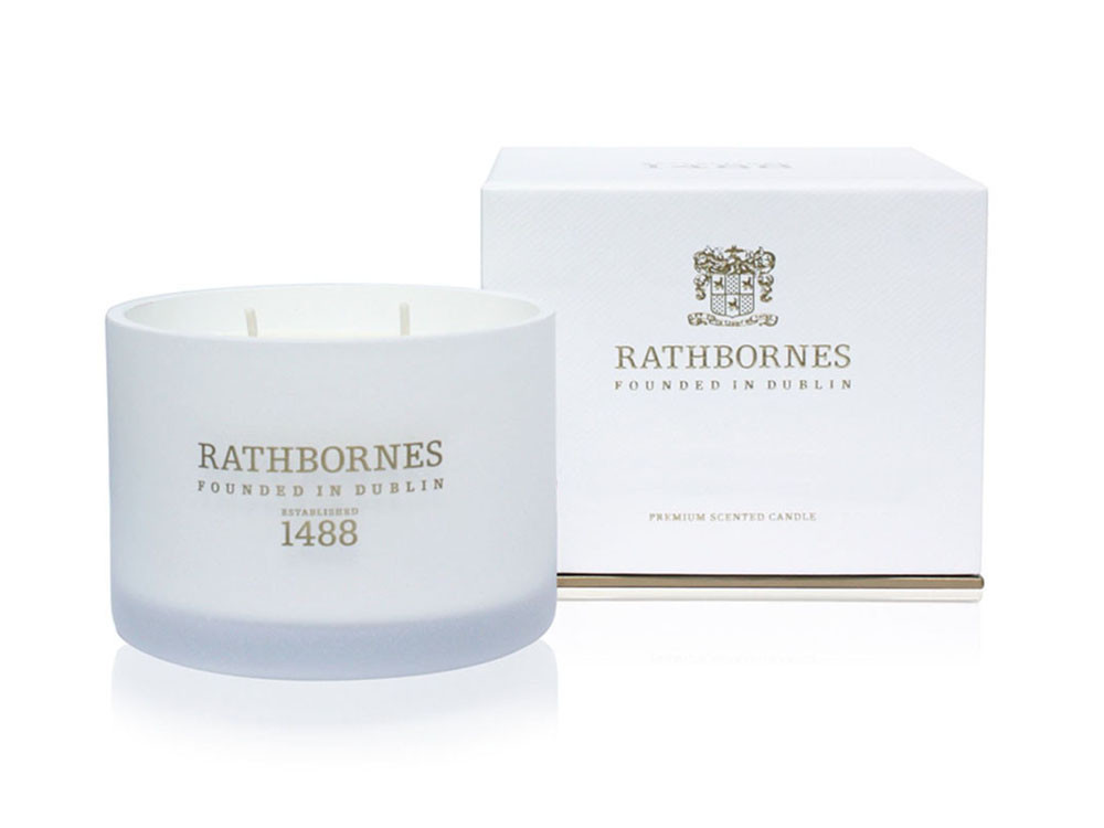 Świeca zapachowa Rathbornes Classic Rosemary Fougere & Camphor