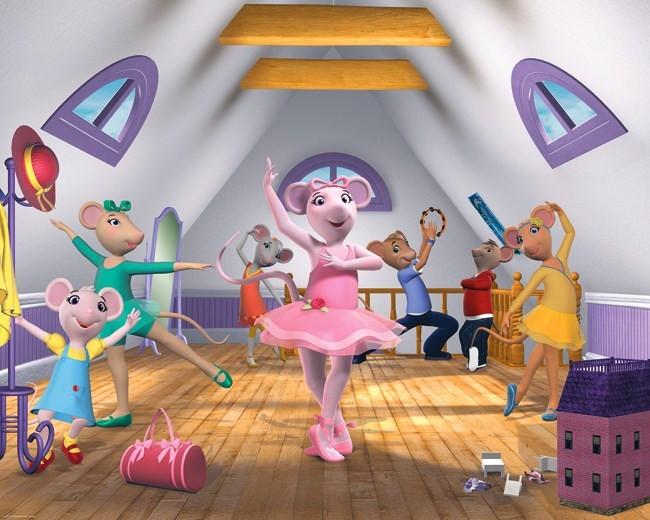 Tapeta dla dzieci Walltastic 3D Angelina