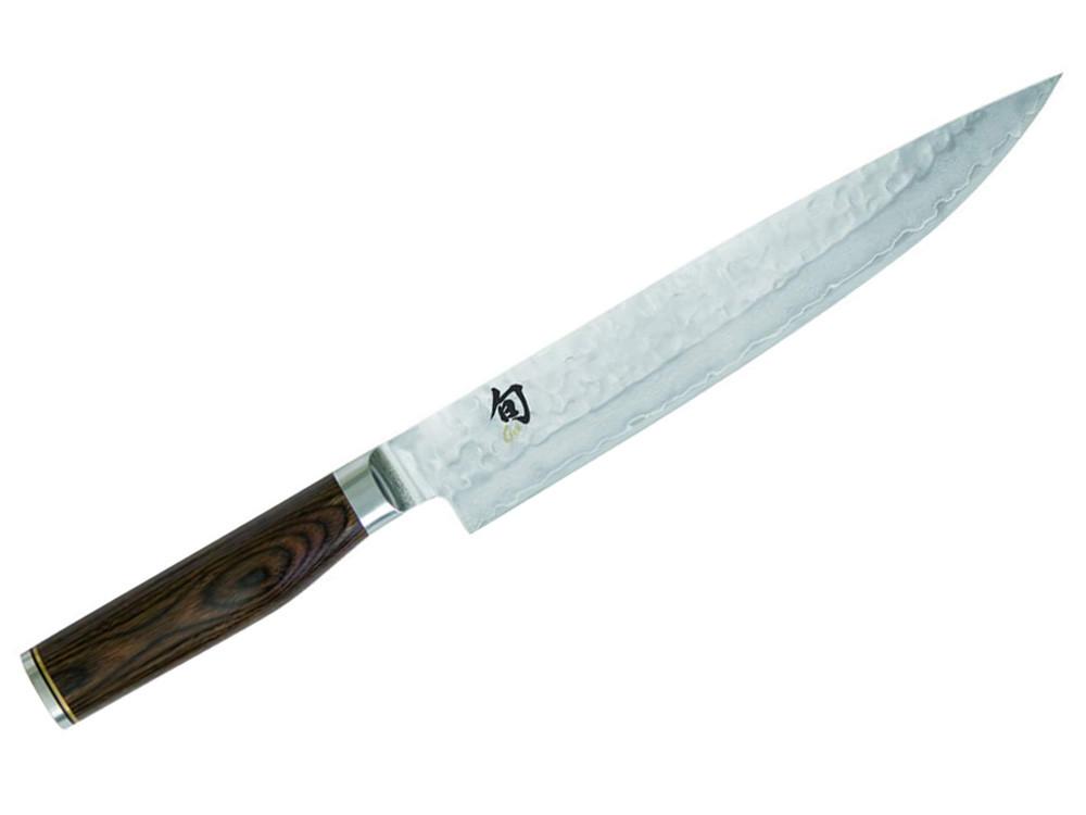 Nóż stalowy KAI Shun Premier Tim Malzer do plastrowania 24cm
