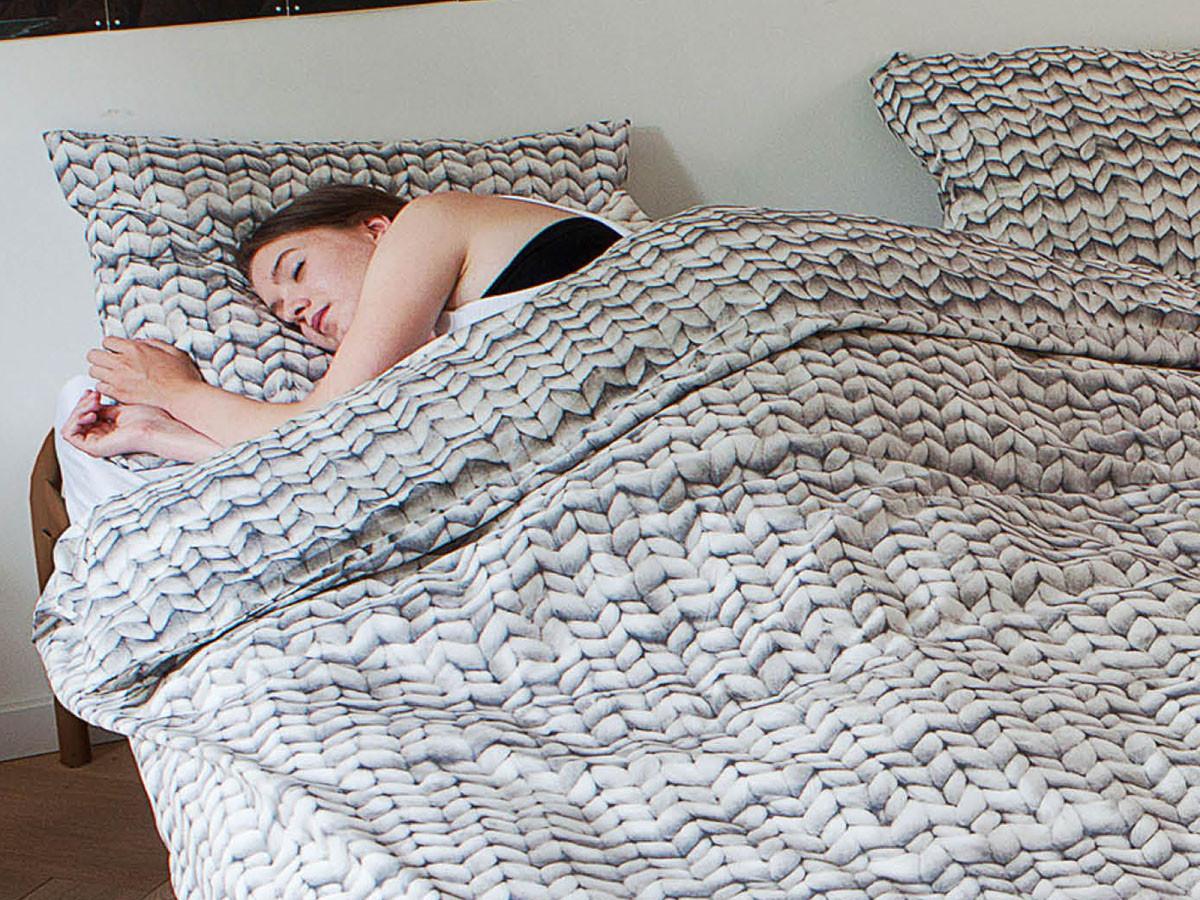 Pościel Snurk Twirre Grey